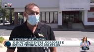 Covid-19: equipa do Louletano está toda infetada