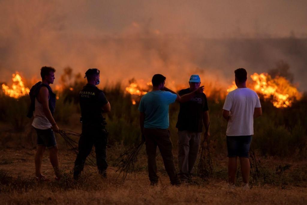 Incêndio em Huelva