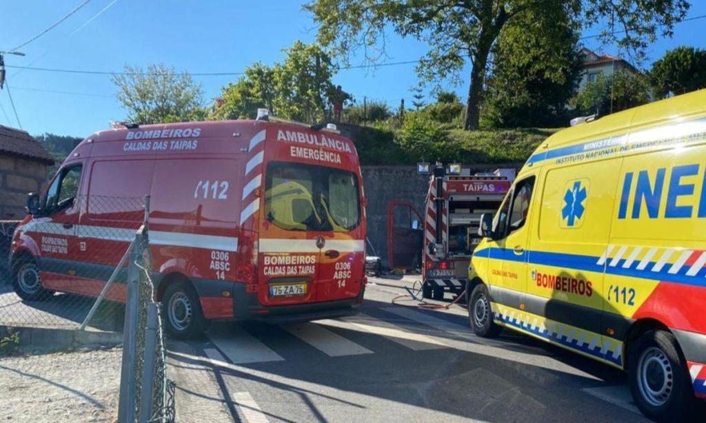 Acidente em Guimarães
