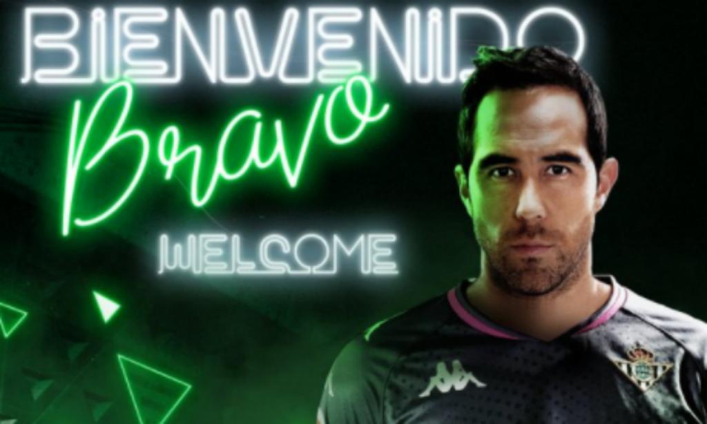 Claudio Bravo (twitter Betis)