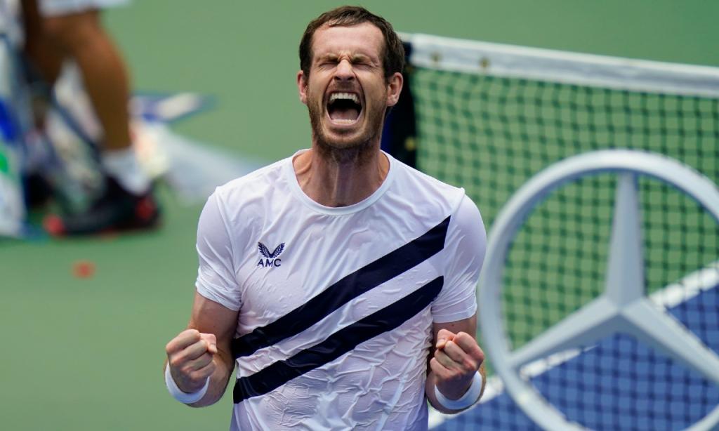 Andy Murray vence Yoshihito Nishioka numa épica batalha no US Open (Seth Wenig/AP)
