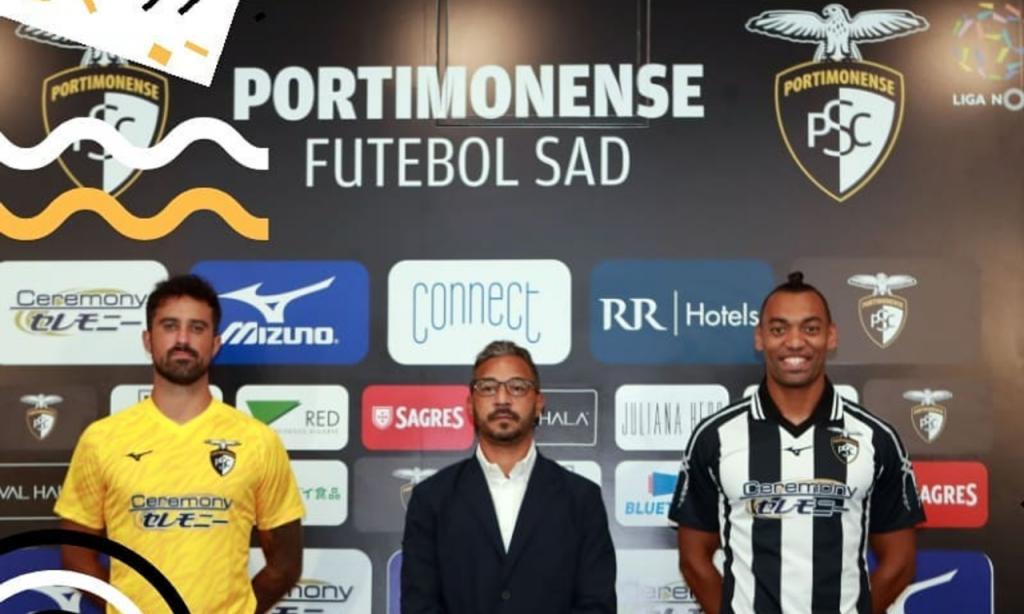 Fabrício e Maurício apresentados no Portimonense (Portimonense)