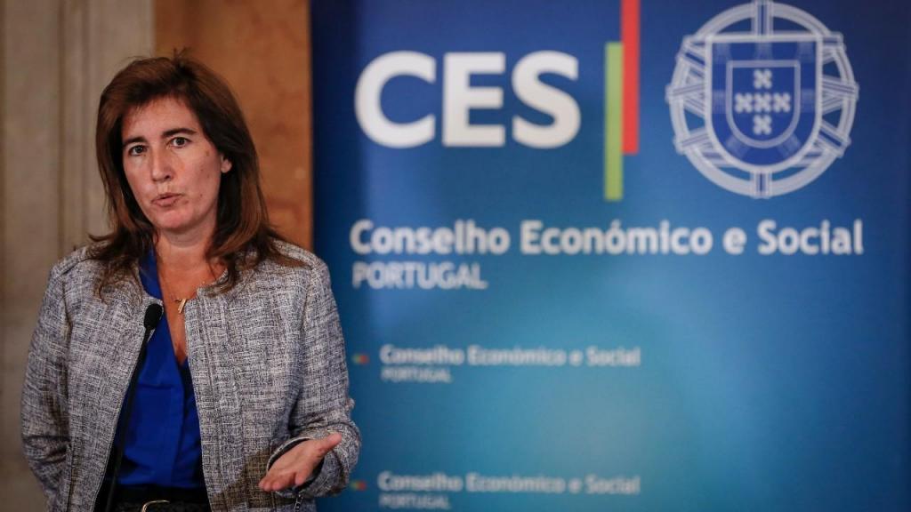 Ana Mendes Godinho falou após a reunião da Concertação Social