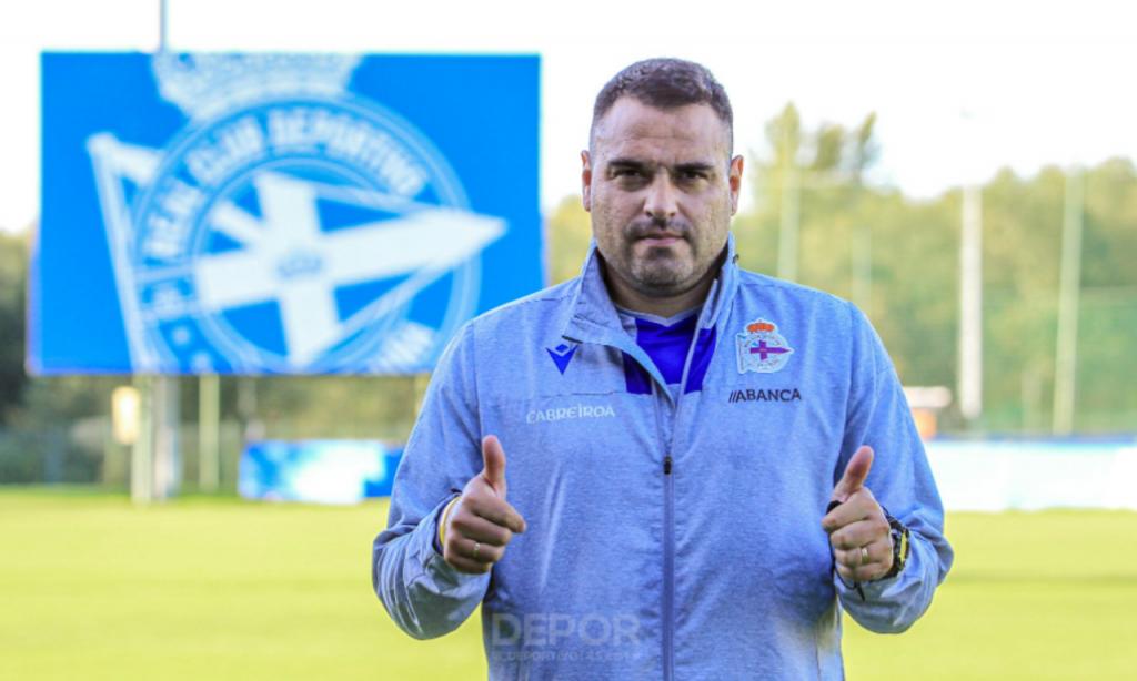 Aldo Duscher volta ao Deportivo, para treinar nos escalões jovens (Foto: Deportivo)