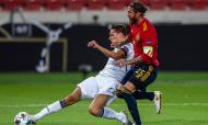 Liga das Nações: Alemanha-Espanha (Matthias Schrader/AP)