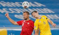 Liga das Nações: Ucrânia-Suíça (Sergey Dolzhenko/EPA)