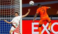 Liga das Nações: Holanda-Polónia (Peter Dejong/AP)