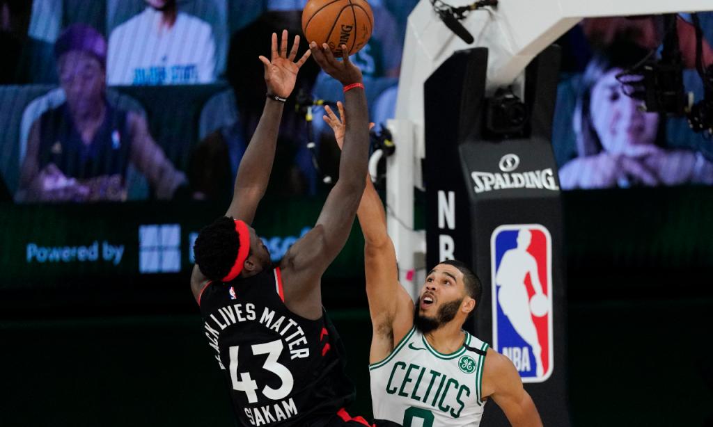 NBA, play-off, 1/2 final Conferência Este (jogo 4): Boston Celtics-Toronto Raptors (Mark J. Terrill/AP)