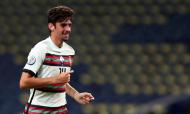 Francisco Trincão estreou-se pela seleção principal no Portugal-Croácia (Miguel Ângelo Pereira/AP)