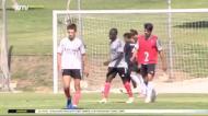 Foram assim os dois primeiros golos de Darwin com a camisola do Benfica