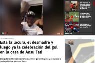 Revista de imprensa: a exibição de Ansu Fati no Espanha-Ucrânia, onde se tornou o mais jovem de sempre a marcar por 'La Roja'