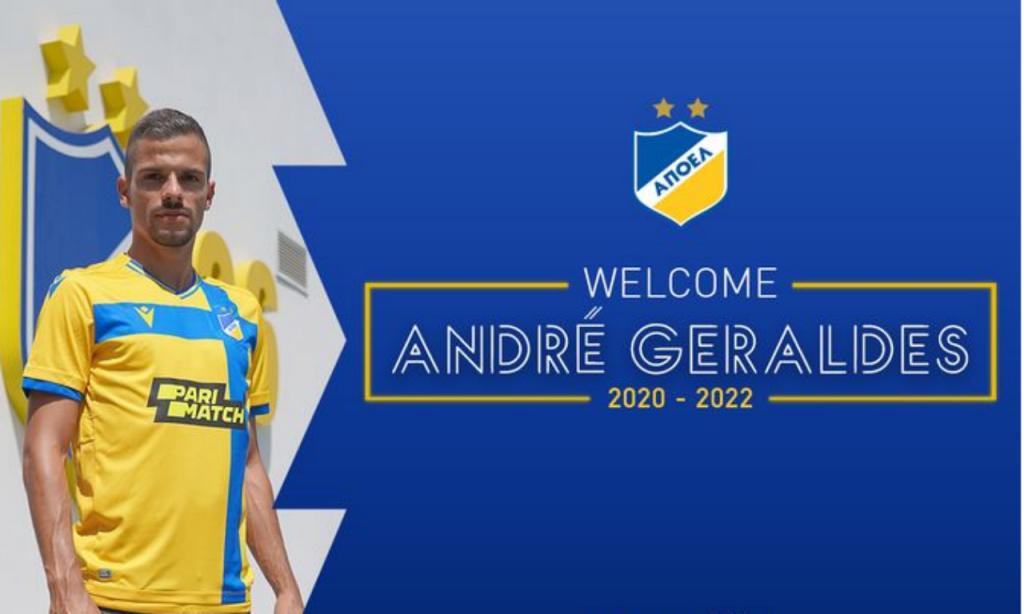 André Geraldes (site APOEL)