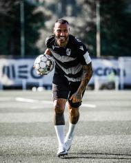 Ricardo Quaresma no primeiro treino pelo V. Guimarães