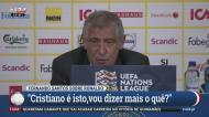 Fernando Santos: «Ronaldo? Vou dizer mais o quê?»