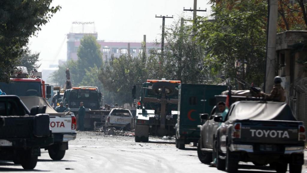 Vice-presidente do Afeganistão alvo de atentado