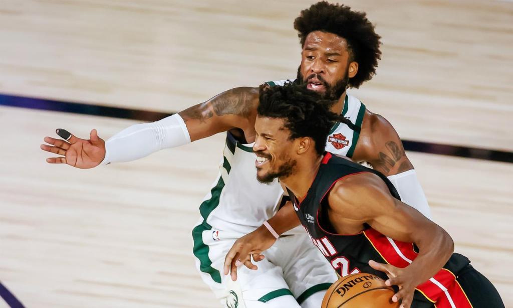 Milwaukee Bucks-Miami Heat (EPA/ERIK S. LESSER)