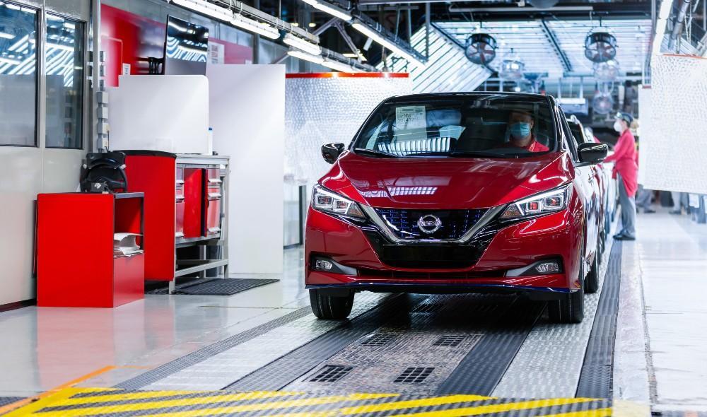 Nissan Leaf 500.000