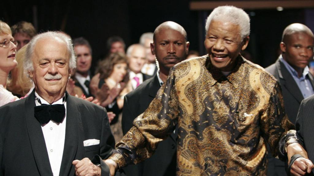 George Bizos e Nelson Mandela