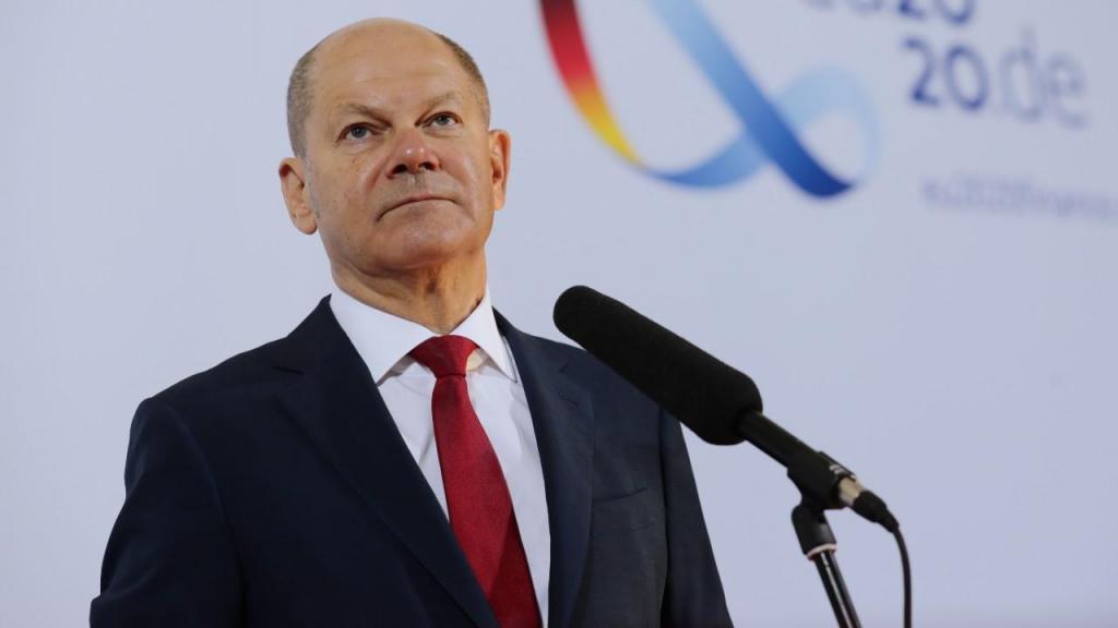 Olaf Scholz, ministro das Finanças alemão