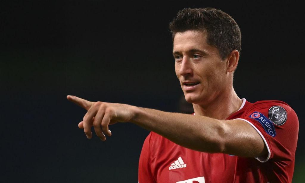 Robert Lewandowski (Bayern Munique/Polónia), 26 golos