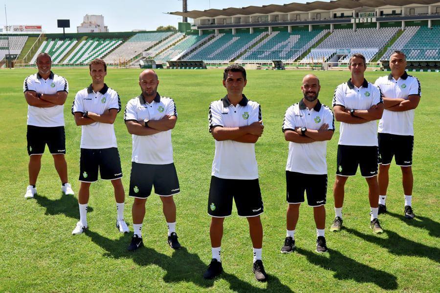 Equipa técnica do V. Setúbal (FOTO: Vitória FC)