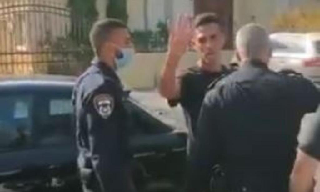 Eran Zahavi detido (youtube)