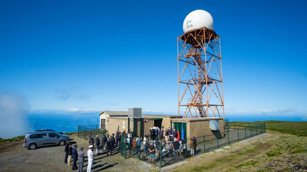 Primeiro radar meteorológico português nos Açores inaugurado hoje na Terceira