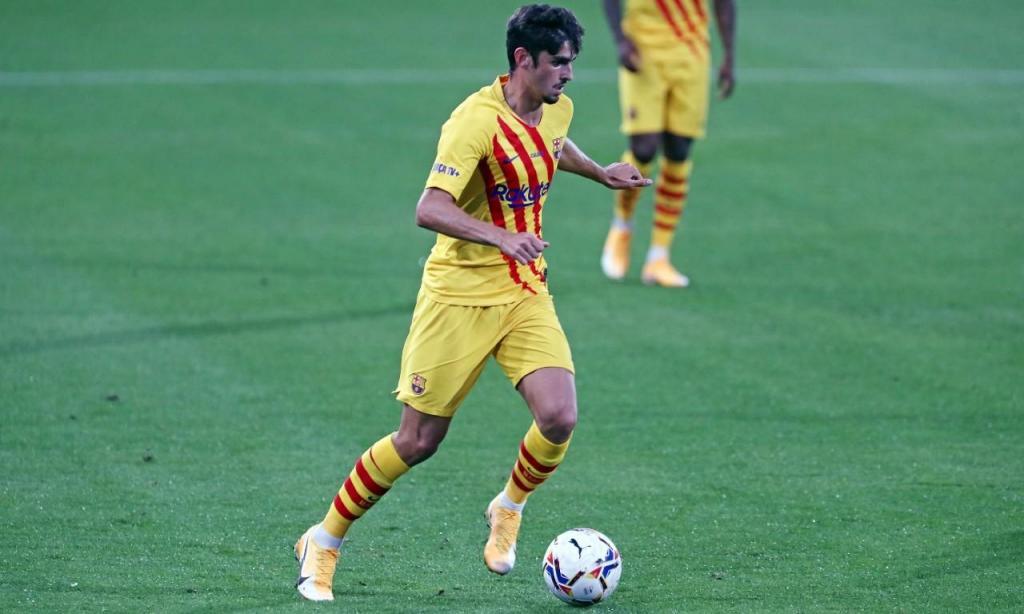 Trincão na estreia (foto: FC Barcelona)