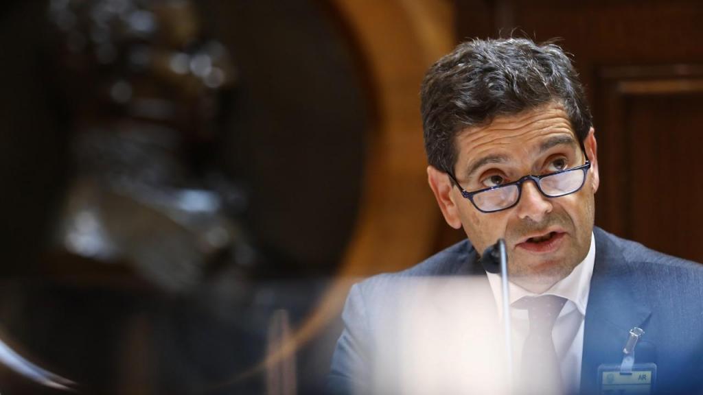 António Ramalho, presidente do Novo Banco, na Comissão de Orçamento e Finanças