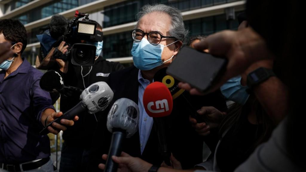 Francisco Teixeira da Mota, advogado de Rui Pinto no processo Football Leaks
