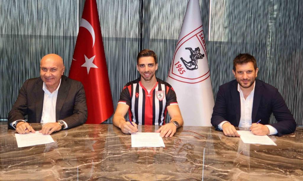 Tomané assinou pelo Samsunspor