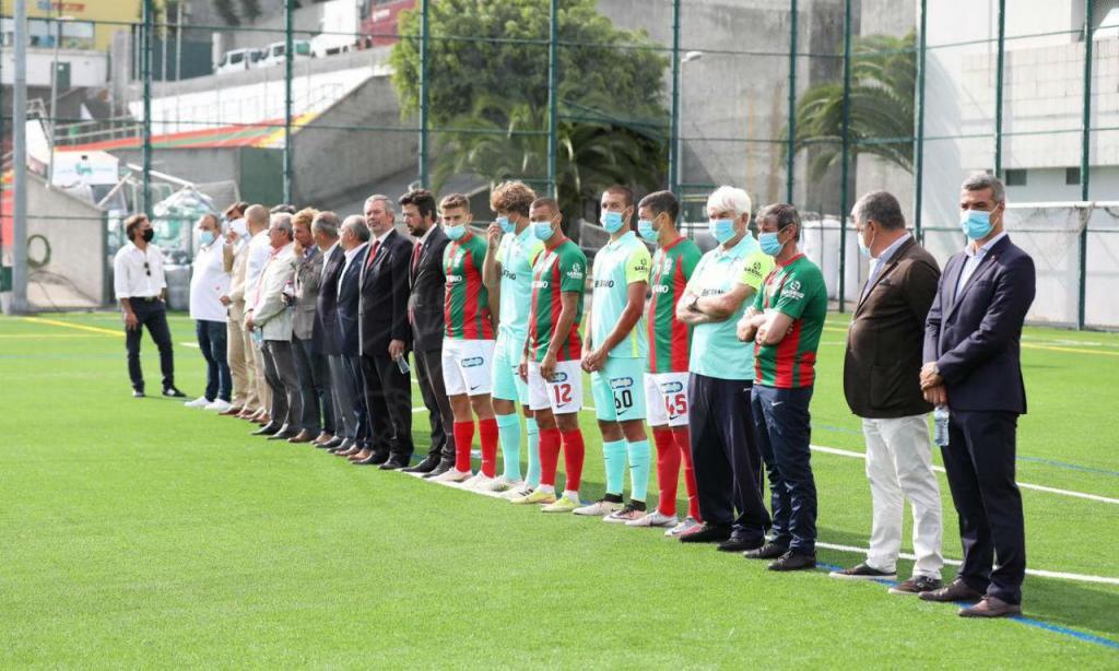 Marítimo apresentou plantel para a nova temporada