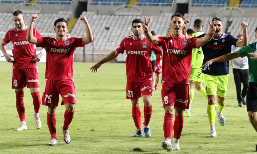 Omonia de Vítor Gomes pela primeira vez no play-off da Champions