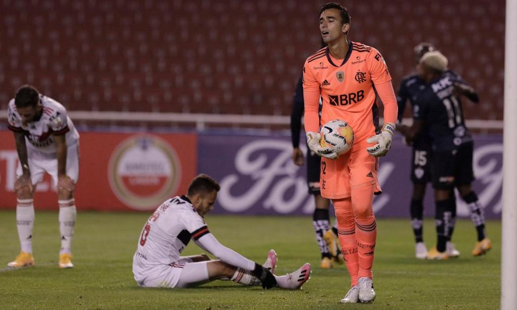 Independiente-Flamengo (EPA/Franklin Jacome)