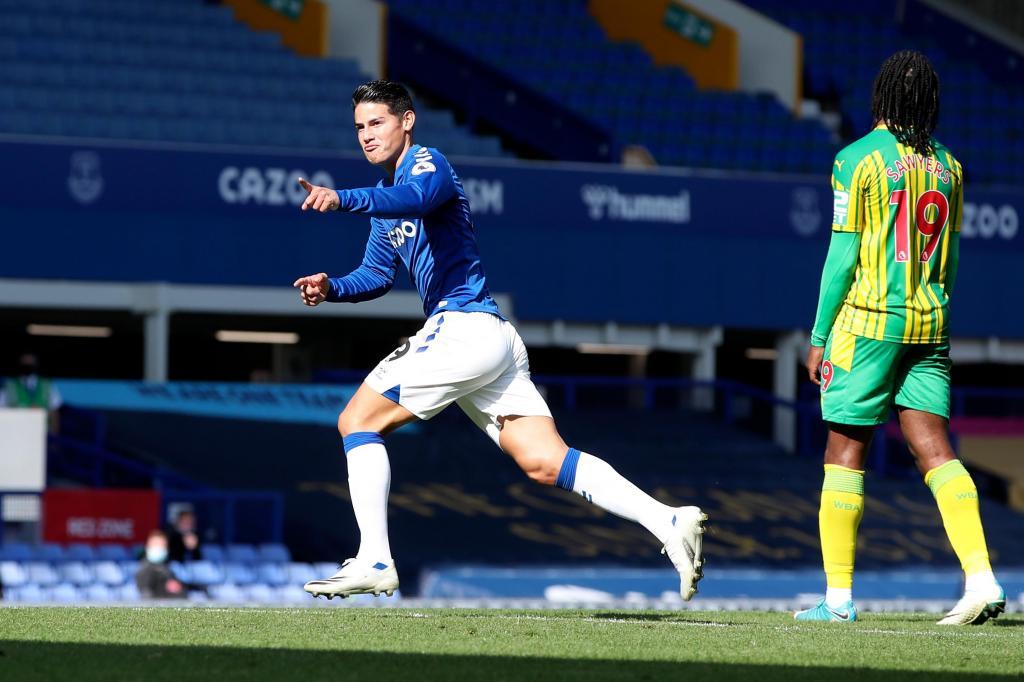 Everton-WBA (AP)