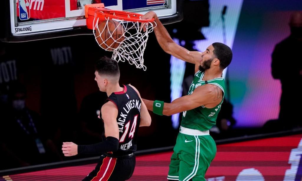 Boston Celtics-Miami Heat (AP Photo/Mark J. Terrill)