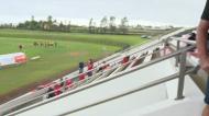 Cerca de 200 pessoas assistem a jogo de futebol nos Açores