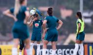 VÍDEO: arara «rouba» a cena em jogo-treino da seleção brasileira (CBF)