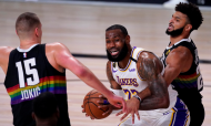NBA, final Conferência Oeste (jogo 3): Denver Nuggets 114-106 LA Lakers (Mark J. Terrill/AP)