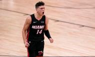 Tyler Herro decisivo no jogo 4 da final Este: Miami Heat vence Boston Celtics (Mark J. Terrill/AP)