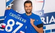 Antonio Candreva (twitter Sampdoria)