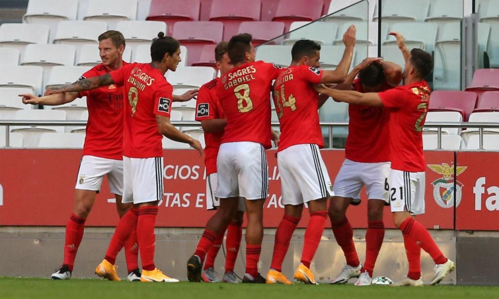 As imagens do Benfica-Moreirense