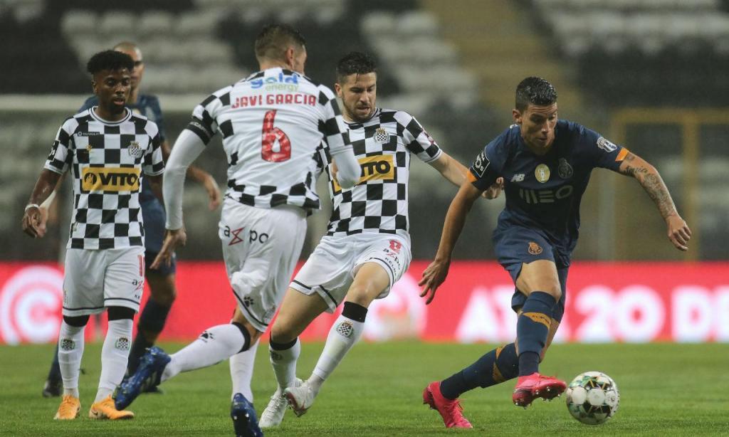 As imagens do Boavista-FC Porto