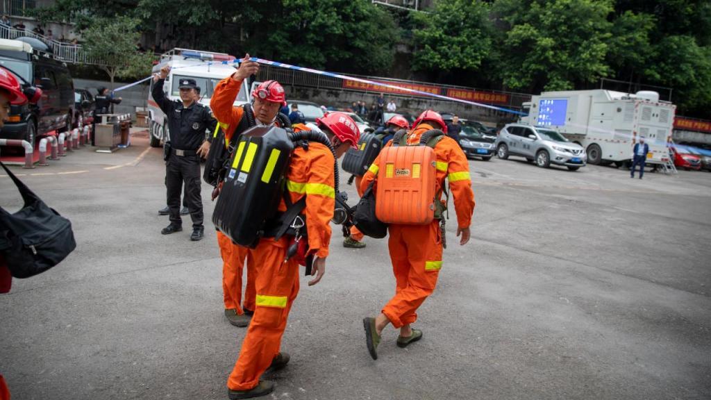 Acidente em mina de carvão na China