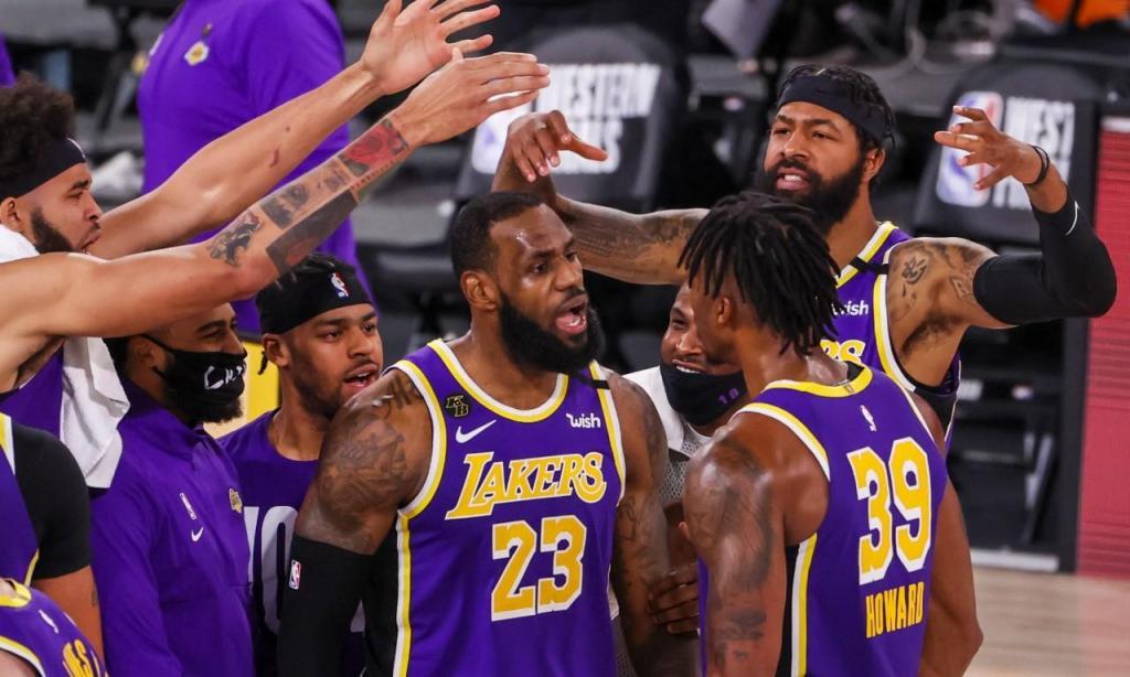 Los Angeles Lakers (ERIK S. LESSER/EPA)