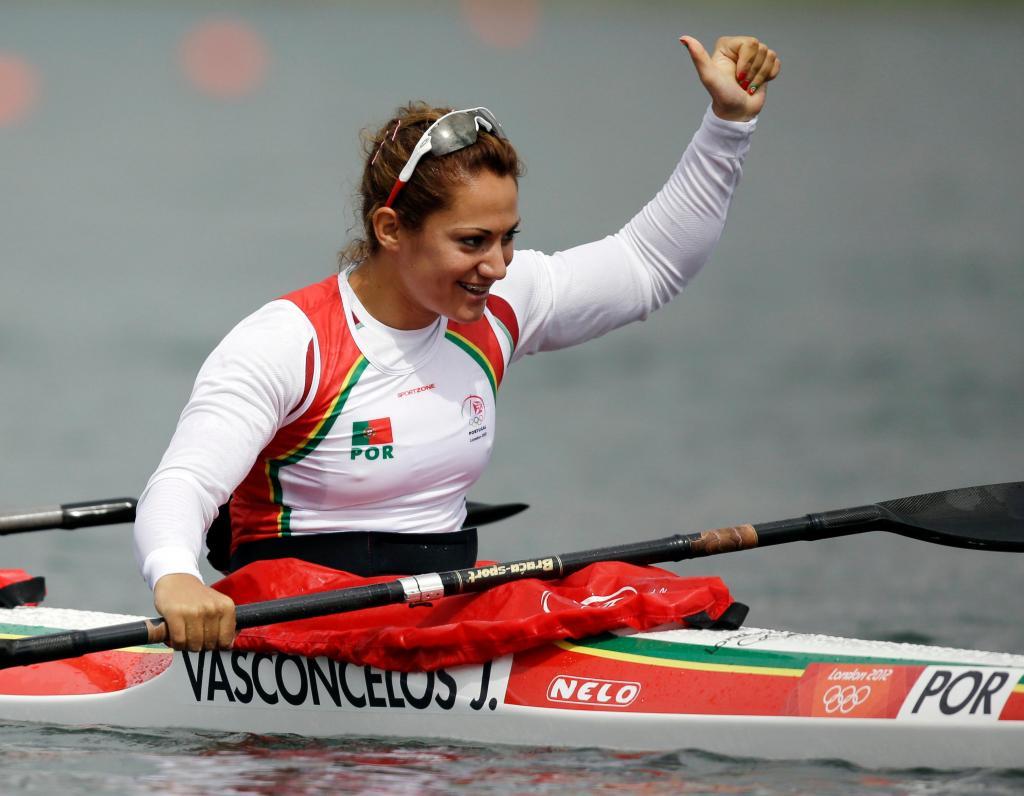 Joana Vasconcelos (AP Photo/Natacha Pisarenko)