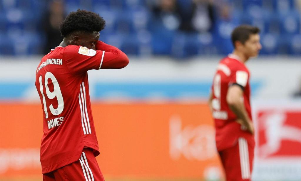 Bayern goleado pelo Hoffenheim