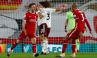 Diogo Jota estreia-se a marcar pelo Liverpool (Jason Cairnduff/AP)