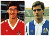Rui Águas: um dos casos mais invulgares, já que trocou o Benfica pelo FC Porto em 1988, para dois anos depois voltar à Luz