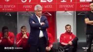 «Rúben, tu serás de certeza um daqueles que um dia voltará ao Benfica»